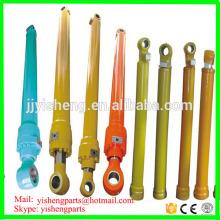 Profesional suministro brazo brazo excavadora cuchara cilindro hidráulico para hyundai R130 R200 R210 R215 R225 R230 R290 R320 R450