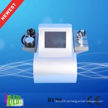 Máquina de adelgazamiento ultrasónica / cavitación RF / máquina de vacío de cavitación