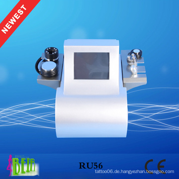 Körperform Vakuum RF + Kavitation Liposuktion Hautpflege Verjüngung für Salon