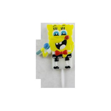 Cina Penjualan Panas Spongebob Squarepants Lilin Kue Ulang Tahun