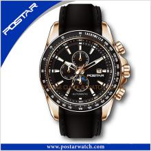 Reloj de pulsera impermeable de cuarzo de los hombres del reloj de manera psd-2287
