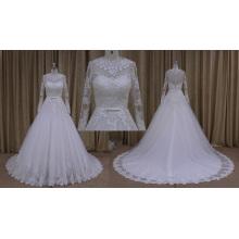 Spanische Designer Brautkleider anziehen
