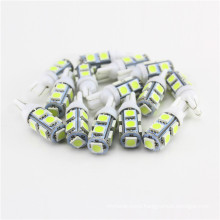 Factory wholesale led car lights bulbs 5050 9SMD canbus auto clearance lights led t10