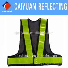 CY 100 % Polyester visibilité gilet sécurité travail porter reflétant personnalisé