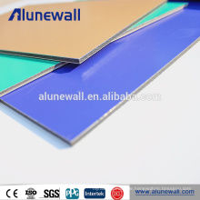 2mm 3mm 4mm 5mm 6mm 8mm PE und PVDF beschichtete Alucobond Aluminium Verbundplatten