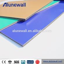 Panneaux composites d'aluminium d'alucobond enduits par 2mm 3mm 4mm 5mm 6mm 8mm pe et de pvdf