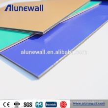 2mm 3mm 4mm 5mm 6mm 8mm pe and pvdf coated alucobond aluminum composite panels
