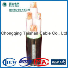 Hochwertiges 3x2.5mm2 rauchfreies, halogenfreies Netzkabel