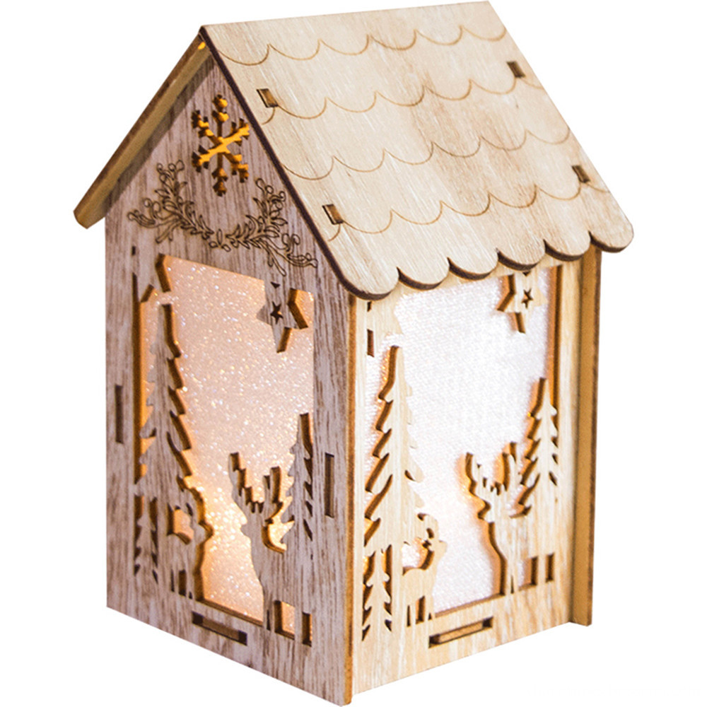 fairy tale wooden chirstmas decoraiton