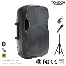 OEM Plastic PA System Wireless Speaker for Model Es15ub