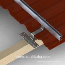 Structure de haute qualité AL de PV pour le système de support de panneau solaire à la maison