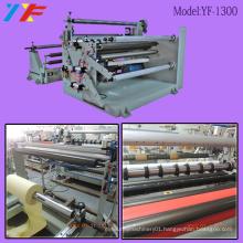 Auotmatic BOPP Adhesive Tape Fabric Paper Slitting Machine
