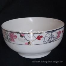 cuenco de fideos de cerámica japonesa