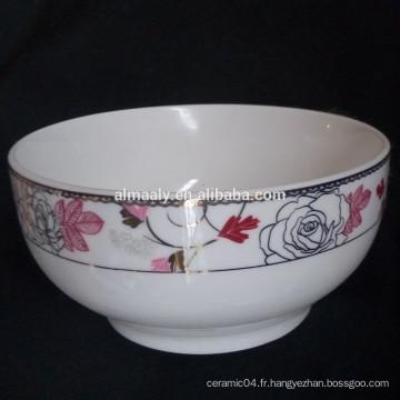bol de nouilles en céramique japonais