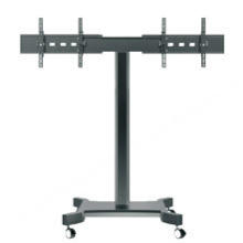 "Public TV Floor Stand Wheelbase Dual Screen 30-60"" (AVA 202F)"
