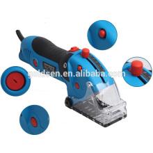 85mm 600W multifunções Power Mini Circular Saw Kit Electric Multi-Master oscilante Ferramentas