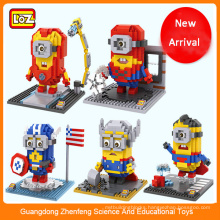 Intelligence Construction Plastic Toy Brick, Toy for Christmas Gift