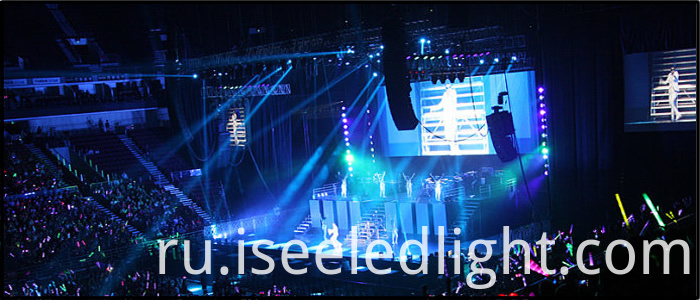 LED Par Light Stage
