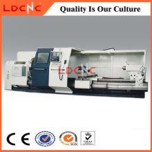Ck61100 Torno CNC horizontal de alta precisión, de alta precisión, para el eje de corte