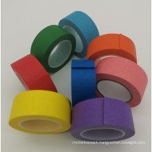 Color Tape Cinta Taping Kraft Paper Thank You Mobilon Anti Slip Waterproof Sealing Grafting Magic Logo Tape in