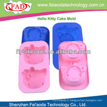 2014 nouvelle étuve en silicone design, moule à gâteau en silicone, moule en silicone