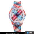 eco-friendly wrist watch geneva silicone watch