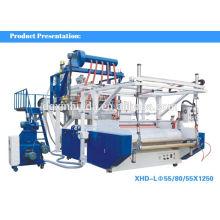 3-х слойная литая машина для производства стрейч-пленки