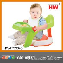 Neues Produkt Plastik 2 in 1 Baby Fütterung Stuhl