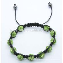 Vente en gros 2014 shamballa pavé bracelet en cristal bracelet 2012 Joya shamballa pavé bracelet en cristal