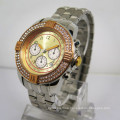 Wholesale Fashion Men′s Stainless Steel Wrist Quartz Watch