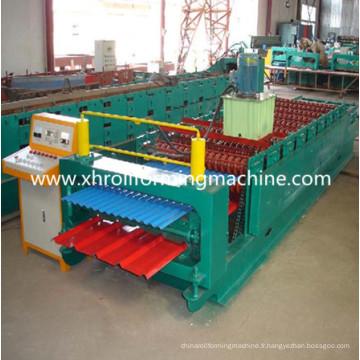 Machine de feuille de toiture galvanisée double couche (XH850-840)
