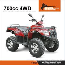 HEIßER Verkauf atv 4 x 4 700cc mit der EWG