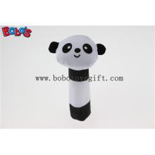 """5.5 """"brinquedos do bebê da panda da peluche brinquedo do chocalho da vara do bebê Bosw1038"""