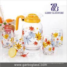 Cristal de consumición del vidrio de consumición del agua 7PCS