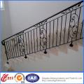 Interior Elegant Beautiful Wrought Iron Handrail
