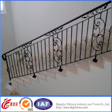 Interior Elegant Beautiful Wrought Iron Handrail