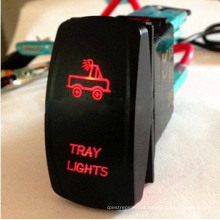 2015 Hot Product Laser Rocker Switch para motocicleta