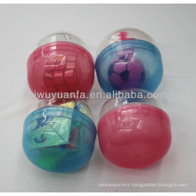High Quality Plastic Empty Toy Capsule for Toy Vending Machine