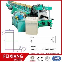 cetakan punching Z purlin mesin roll forming