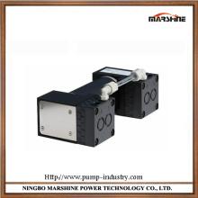 Pressão negativa mini diafragma bomba de vácuo de resistência à corrosão isento de óleo
