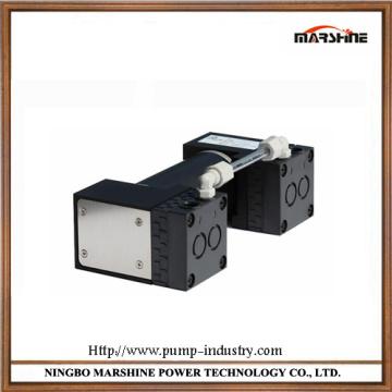Bomba de vacío de presión negativa mini diafragma sin aceite corrosión resistencia