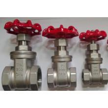 ANSI Ss 304/316 Válvula de compuerta con rosca NPT / BPS