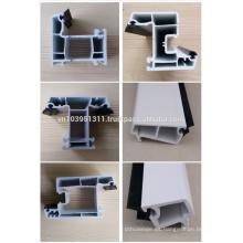 BS EN 12608 Estándar, aislamiento térmico, aislamiento acústico Perfil de PVC Puertas y ventanas