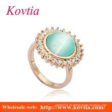Mode große Opal Goldfinger Ringe Design für Frauen mit Preis