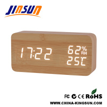 Fresh Led Clock With Humidity And Temperature