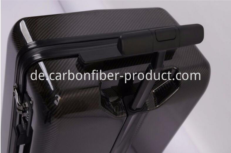Carbon fiber luggage