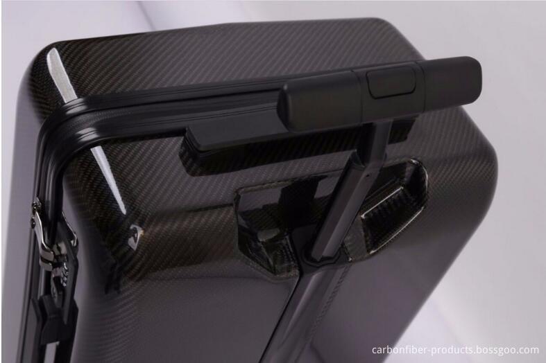 Carbon fiber luggage