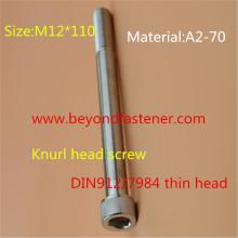 DIN912 / DIN7984 Vis à tête hexagonale Vis à tête de molette