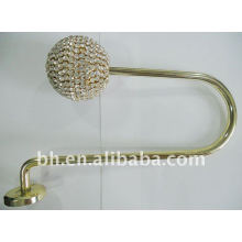 New Design Metal Curtain Hook Types With Diamonds