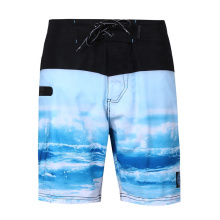 Drawstring Low 4way Stretch Board Shorts for Men